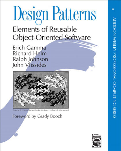 Design Patterns: Elements of Reusable Object-Oriented Software by Erich Gamma, Richard Helm, Ralph Johnson, and John Vlissides